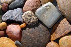 αφηρημένες ζωηρόχρωμες πέτρες ανασκόπησης Στοκ Εικόνες