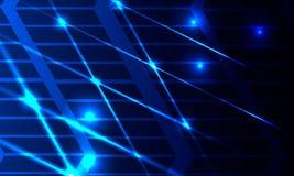 Αφηρημένες καμμένος γραμμές με τους τεμνόμενους και αναδρομικά φωτισμένους αριθμούς απεικόνιση αποθεμάτων
