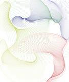 αφηρημένες καμπύλες ανασ&k διανυσματική απεικόνιση