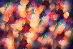 Αφηρημένες καρδιές Στοκ Φωτογραφία