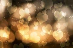 Αφηρημένες καρδιές Στοκ φωτογραφία με δικαίωμα ελεύθερης χρήσης