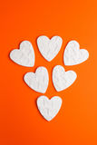αφηρημένες καρδιές Στοκ εικόνες με δικαίωμα ελεύθερης χρήσης