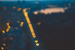 αφηρημένες καρδιές Στοκ Εικόνες