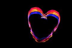 αφηρημένες καρδιές Στοκ Φωτογραφίες
