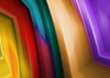 αφηρημένες λουρίδες χρώμ&alp ελεύθερη απεικόνιση δικαιώματος