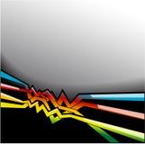 αφηρημένες μαύρες γραμμές απεικόνιση αποθεμάτων