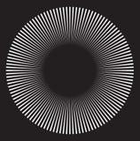 αφηρημένες μαύρες οπτικές μορφές απεικόνισης παραίσθησης τρυπών desgin γεωμετρικές Στοκ εικόνες με δικαίωμα ελεύθερης χρήσης