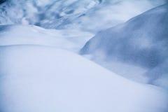 Αφηρημένες μορφές χιονιού Στοκ εικόνες με δικαίωμα ελεύθερης χρήσης