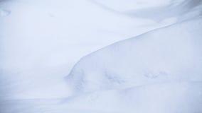 Αφηρημένες μορφές χιονιού Στοκ Εικόνα