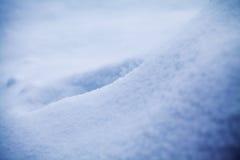 Αφηρημένες μορφές χιονιού Στοκ φωτογραφίες με δικαίωμα ελεύθερης χρήσης