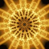 αφηρημένες μορφές χρυσές Στοκ εικόνες με δικαίωμα ελεύθερης χρήσης