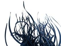 αφηρημένες μπλε άμπελοι Στοκ Φωτογραφίες