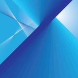 αφηρημένες μπλε γραμμές ανασκόπησης Στοκ φωτογραφία με δικαίωμα ελεύθερης χρήσης