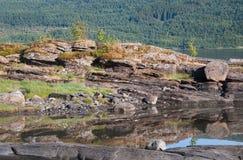Αφηρημένες πέτρες επαρχίας Στοκ εικόνες με δικαίωμα ελεύθερης χρήσης