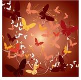αφηρημένες πεταλούδες Στοκ εικόνες με δικαίωμα ελεύθερης χρήσης