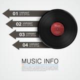 Αφηρημένες πληροφορίες μουσικής background beautiful disk photo retro very vinyl Στοκ Φωτογραφίες
