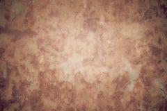 αφηρημένες συστάσεις Παλαιό επίστρωμα Καφετής-γκρίζος-πορτοκαλής Στοκ Φωτογραφία