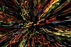 Αφηρημένες φω'τα ανασκόπησης/γραμμές χρωμάτων/XXXL Στοκ Εικόνα