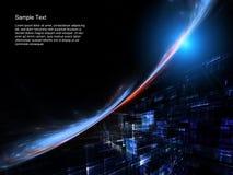 αφηρημένες διαστημικές τ&epsilo Στοκ Εικόνες