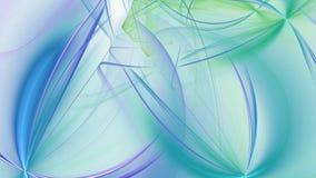 Αφηρημένες fractal μπλε γραμμές πλήρες HD διανυσματική απεικόνιση