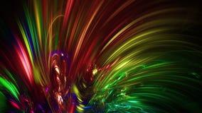 Αφηρημένες fractal χρωματισμένες γραμμές πλήρες HD ελεύθερη απεικόνιση δικαιώματος
