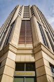 Αφηρημένη άποψη του κτηρίου πύργων Fargo φρεατίων, Roanoke, Βιρτζίνια, ΗΠΑ Στοκ Εικόνες