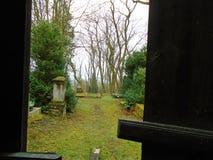 Αφηρημένη άποψη του τάφου νεκροταφείων στοκ εικόνες με δικαίωμα ελεύθερης χρήσης