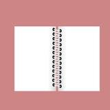 Άσπρη κενή σελίδα Στοκ εικόνες με δικαίωμα ελεύθερης χρήσης