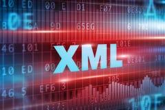 Αφηρημένη έννοια XML Στοκ εικόνες με δικαίωμα ελεύθερης χρήσης