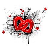 αφηρημένη αγάπη απεικόνιση αποθεμάτων