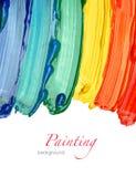 αφηρημένη ακρυλική ανασκόπηση που χρωματίζεται στοκ εικόνες