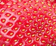 αφηρημένη ανασκόπησης καρπού νόστιμη σύσταση φραουλών καρπών κόκκινη Στοκ Φωτογραφία