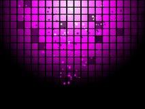 Αφηρημένη ανασκόπηση αφισών disco Στοκ Εικόνα
