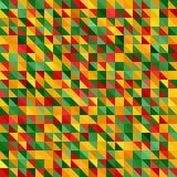 αφηρημένη ανασκόπηση Διανυσματικό άνευ ραφής γεωμετρικό σχέδιο τριγώνων Στοκ Φωτογραφίες