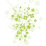 Αφηρημένη ανασκόπηση λουλουδιών ελεύθερη απεικόνιση δικαιώματος