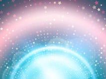 Αφηρημένη ανασκόπηση με τα αστέρια Στοκ εικόνα με δικαίωμα ελεύθερης χρήσης