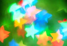Αφηρημένη ανασκόπηση με τα αστέρια Στοκ Εικόνα