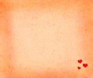 Αφηρημένη ανασκόπηση με τις καρδιές Στοκ Εικόνες