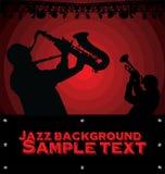 Αφηρημένη ανασκόπηση μουσικής τζαζ Στοκ Φωτογραφία
