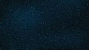 αφηρημένη ανασκόπηση Ο όμορφος έναστρος ουρανός είναι μπλε καταπληκτικός ουρανός Η πυράκτωση αστεριών στο πλήρες σκοτάδι Ένας ζαλ διανυσματική απεικόνιση