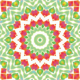 Αφηρημένη ανασκόπηση προτύπων mandala/καλειδοσκόπιων Στοκ Εικόνες