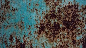αφηρημένη ανασκόπηση Σκουριασμένο μέταλλο, σκουριασμένος σίδηρος στοκ εικόνες με δικαίωμα ελεύθερης χρήσης