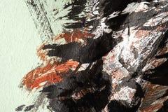 αφηρημένη ανασκόπηση τέχνης background hand painted Στοκ φωτογραφία με δικαίωμα ελεύθερης χρήσης