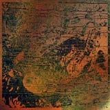 αφηρημένη ανασκόπηση τέχνης grun ελεύθερη απεικόνιση δικαιώματος