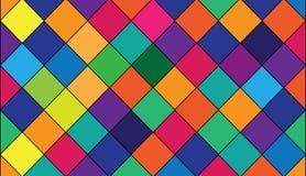 αφηρημένη ανασκόπηση τετράγωνο προτύπων Ζωηρόχρωμο αφηρημένο διάνυσμα υποβάθρου Στοκ εικόνα με δικαίωμα ελεύθερης χρήσης