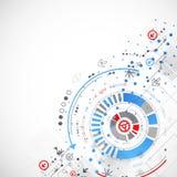 αφηρημένη ανασκόπηση τεχνο& επίσης corel σύρετε το διάνυσμα απεικόνισης Στοκ εικόνες με δικαίωμα ελεύθερης χρήσης