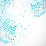 αφηρημένη ανασκόπηση τεχνο& επίσης corel σύρετε το διάνυσμα απεικόνισης Στοκ Φωτογραφίες