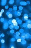 Αφηρημένη ανασκόπηση των μπλε φω'των Στοκ Φωτογραφία