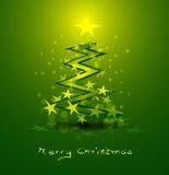 Αφηρημένη ανασκόπηση Χριστουγέννων διανυσματική απεικόνιση