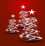 Αφηρημένη ανασκόπηση Χριστουγέννων ελεύθερη απεικόνιση δικαιώματος